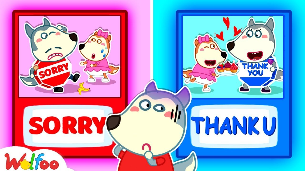 ? LIVE: Wolfoo Learns Say Sorry and Thank You - Good Habits for Kids | Wolfoo Family Kids Cartoon