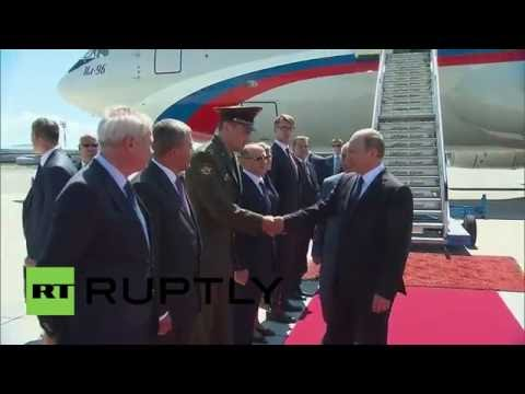 Slovenia: Putin arrives in Ljubljana for ceremony and bilateral talks