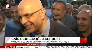 Enis Berberoğlu tahliye edildi / Levent Gök