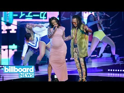 Ozuna & Cardi B Give Epic Performance of La Modelo at Billboard Latin Music Awards Billboard News