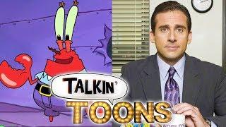 SpongeBob Squarepants Travels to The Office! (Talkin' Toons w/ Rob Paulsen)
