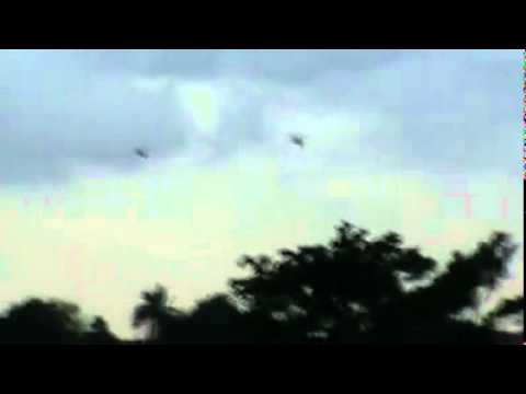 Abidjan 04-04-2011, le bombardement de l'ONUCI