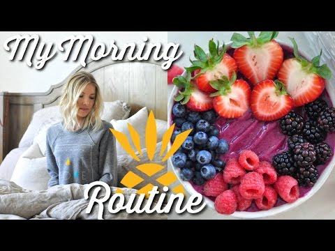 My Morning Routine + An Epic Raw Vegan Breakfast (Smoothie + Juice Recipe!)