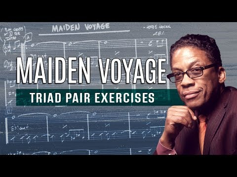 Maiden Voyage Triad Pair Exercises - all instruments