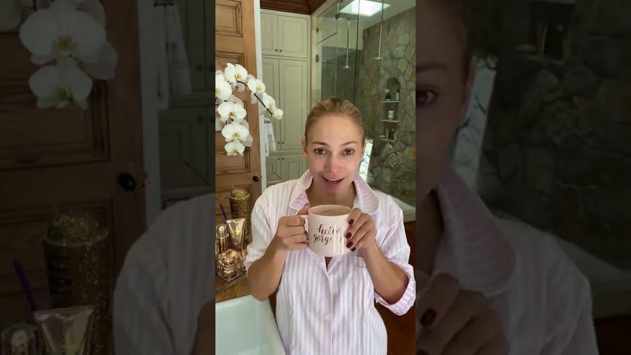 Jennifer Lopez - My JLo Beauty Morning Routine