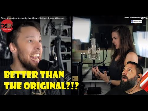 FIRST REACTION Leo Moracchioli Metal Cover of Toto - Africa is it BETTER THAN THE ORIGINAL?!?