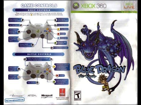 blue dragon game manual xbox360 instruction booklet youtube rh youtube com xbox 360 game instruction booklet Xbox 360 Arcade Manual