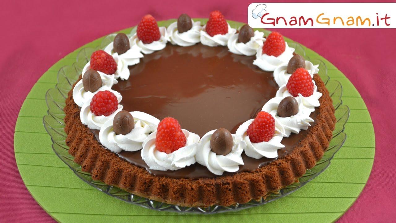 Ricetta Torta Al Cioccolato Gnam Gnam.Crostata Morbida Al Cioccolato La Ricetta Di Gnam Gnam Youtube