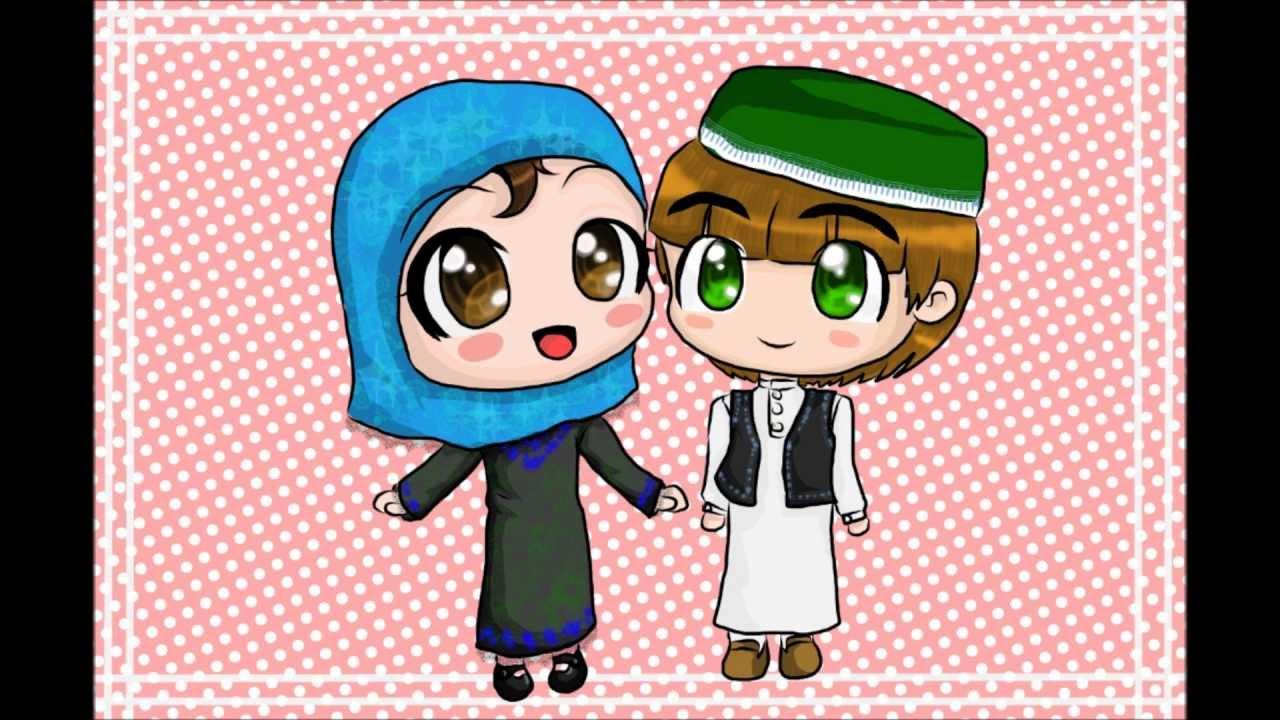 How to draw manga muslim chibis youtube
