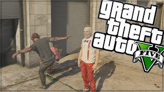 "GTA 5 Funny Moments | ""DELAYED REACTION"" 
