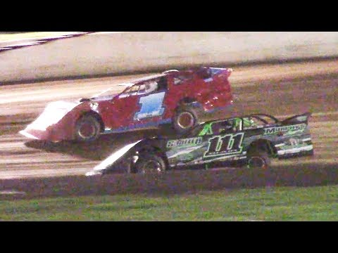 RUSH Crate Late Model Heat One   Eriez Speedway   9-22-18