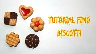 Biscotti in Fimo (polymerclay tutorial cookies)