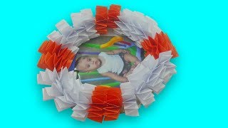 How to make Awesome photo Frame out of paper - Diy paper Craft