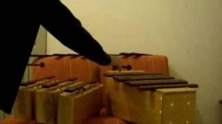 Barras Sonoras Individuais e Xilofone Baixo Construindo o Som 3