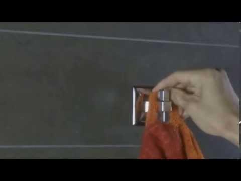 Como instalar accesorios de ba o adhesivos youtube for Accesorios adhesivos para bano