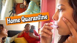 Vlog- Things I Do while QUARANTINE At Home  !!
