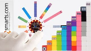 Numberblocks and the Magic Counter - DIY project (feat. Halo Code and Magnetic Cubes)