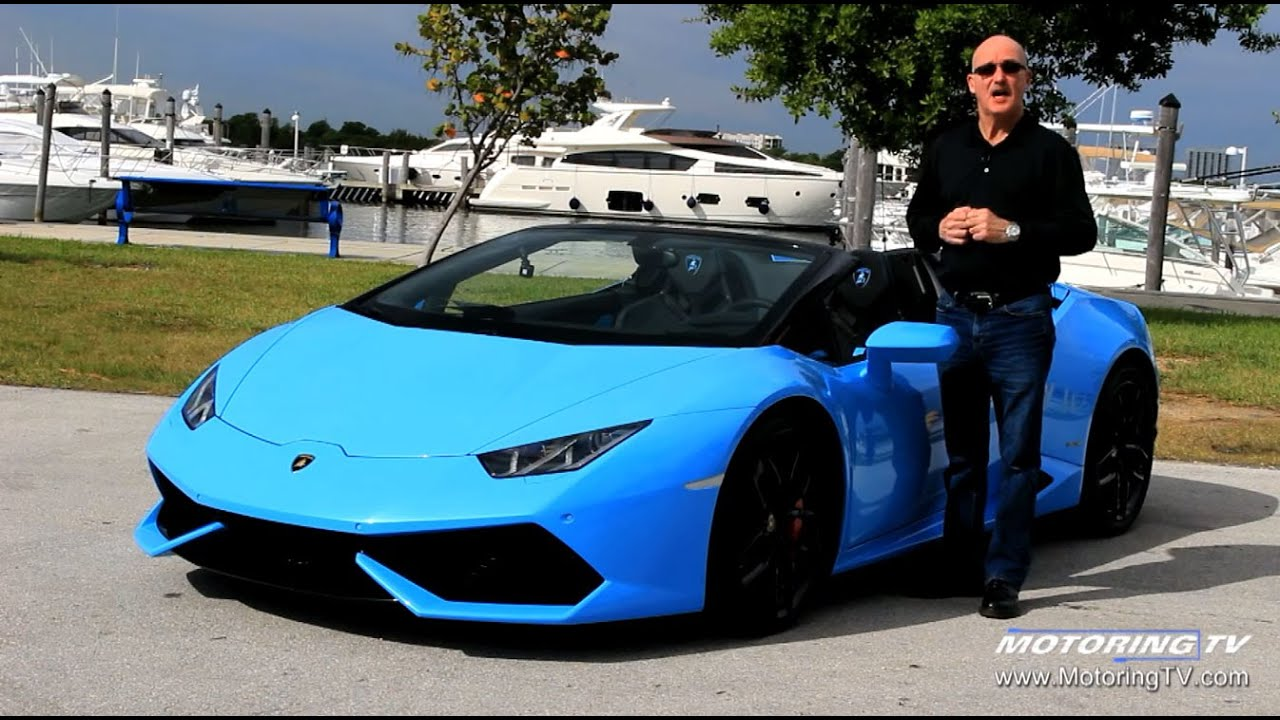 review lamborghini huracan lp 610 4 spyder youtube. Black Bedroom Furniture Sets. Home Design Ideas