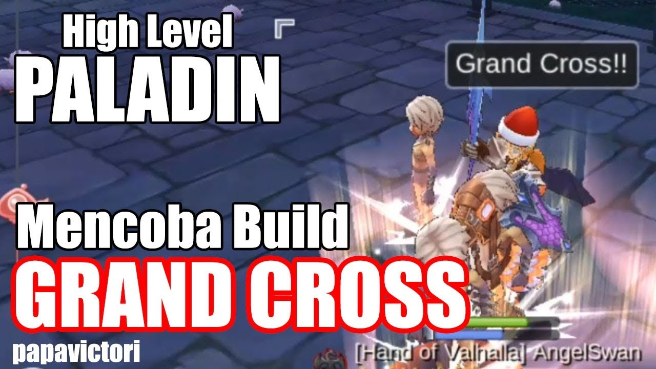 Ragnarok Mobile : Paladin High Level Trying Grand Cross Build
