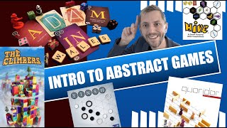 Boardgame Vlog 6: Top five Mechanisms in Abstract games