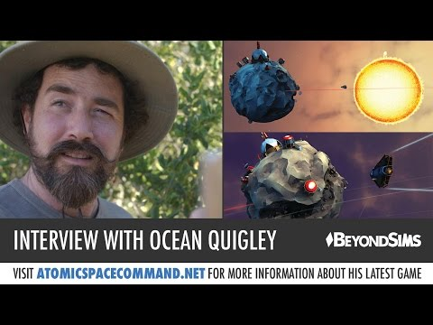 Interview with Ocean Quigley about Atomic Space Command