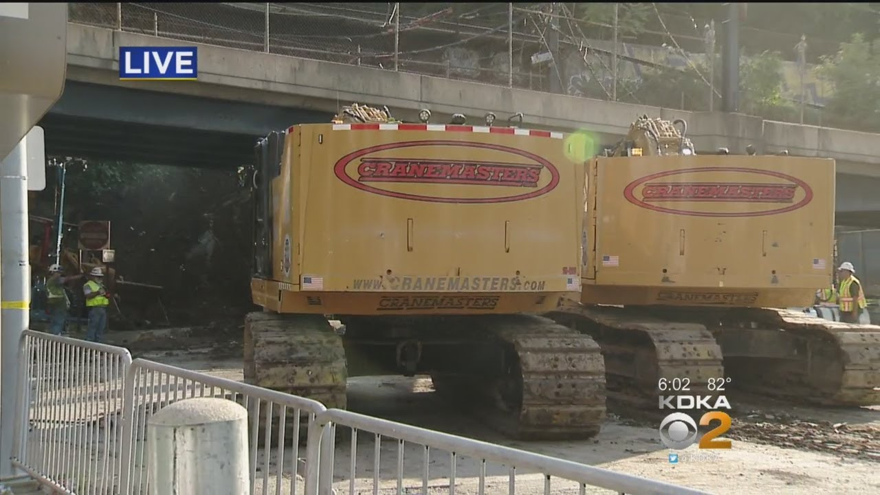 Major Progress Being Made In Station Square Train Derailment Cleanup