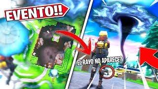 AHORA TERCERA MAQUINA NO APARECE EL RAYO DEL EVENTO, EN DIRECTO FORTNITE !!