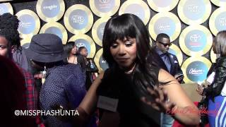MissPhaShunta Interviews Erica Campbell on 2014 Soul Train Awards red carpet
