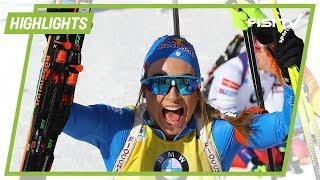 Mondiali: Dorothea Wierer vince l'oro nell'nseguimento
