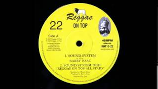 "10"" Barry Isaac/Reggae On Top All Stars - Sound System/Dub"
