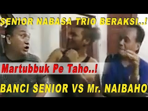 ✔️(*LIVE*) Lawak Batak Terbaru & Nabasa Trio (unang Lupa Klik Tombol Subscribe  Dongan)