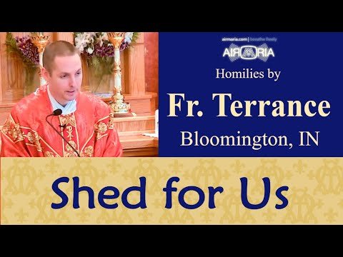 Precious Offering for Our Salvation - Jul 01 - Homily - Fr Terrance