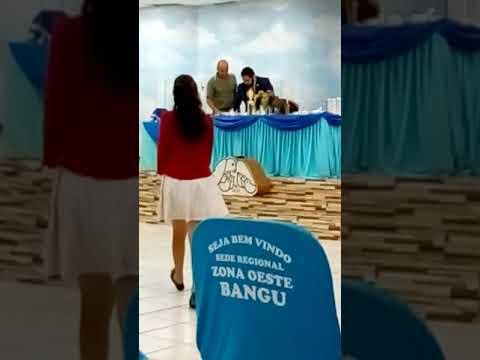 Entrega Do Certificado De Batismo Da Minha Filha Daniella YouTube