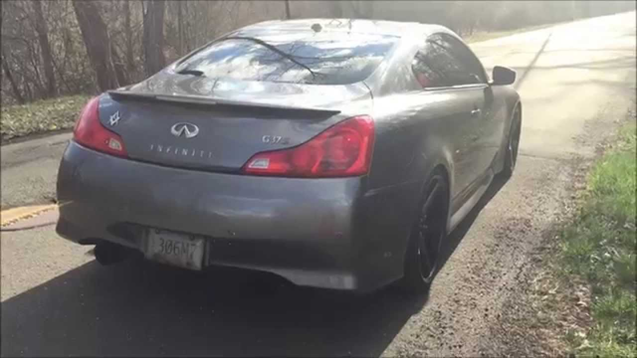 Infiniti G37 Coupe Invidia Gemini Exhaust with MXP Test Pipes Drive By  Sound Clips - TSM