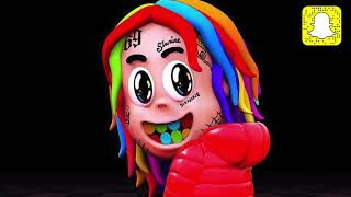 6ix9ine - KANGA (Clean) ft. Kanye West