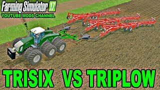 Farming Simulator 2017  Mods Fendt Trisix Pull Three Salford 8312 Plow