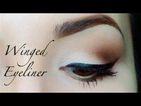 How to: Winged Eyeliner thumbnail