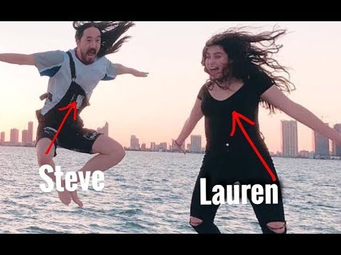LAUREN JAUREGUI LIVESTREAM ( they're having sex on the boat) FEAT STEVE AOKI