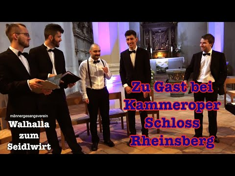 MGV Walhalla zum Seidlwirt in Rheinsberg 2017