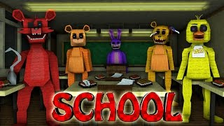 Minecraft School | Military School of Mods - Five Nights at Freddy