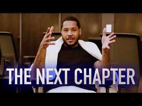 Carson - Carmelo Anthony on becoming a TRAIL BLAZER