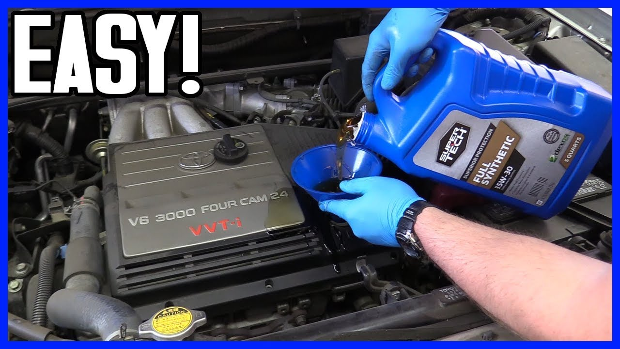 How to Change Oil and Filter Toyota Highlander V6 2001-2007