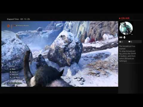 FarCry Primal #4 learn how to swim, life of a mammoth.