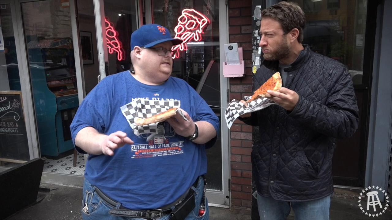 Barstool Pizza Review Baker S Pizza With Special Guest