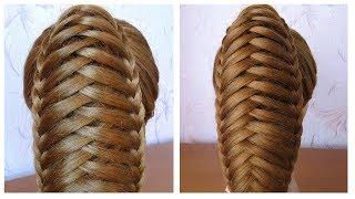 Queue de cheval originale et simple ★ Tuto coiffure avec tresse ★ facile à faire