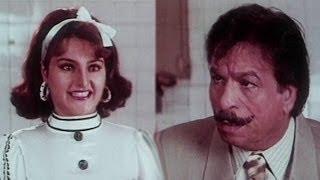 Kader khan, saif ali khan, surakshaa - comedy scene 8/15