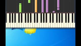 Burt Bacharach   What The World Needs Now [Piano tutorial by Synthesia]
