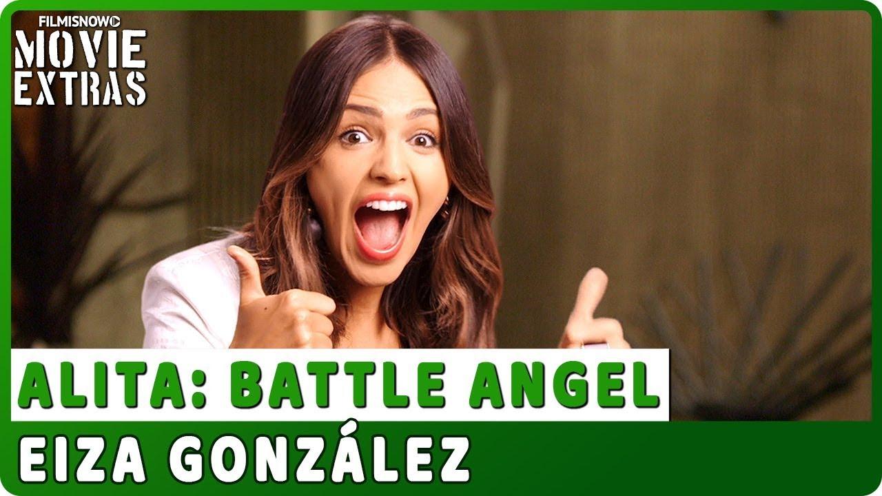 ALITA: BATTLE ANGEL   On-set Interview with Eiza González