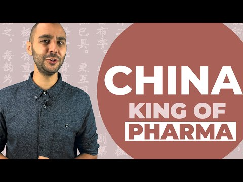 This is why the pharma industry is dependent on China