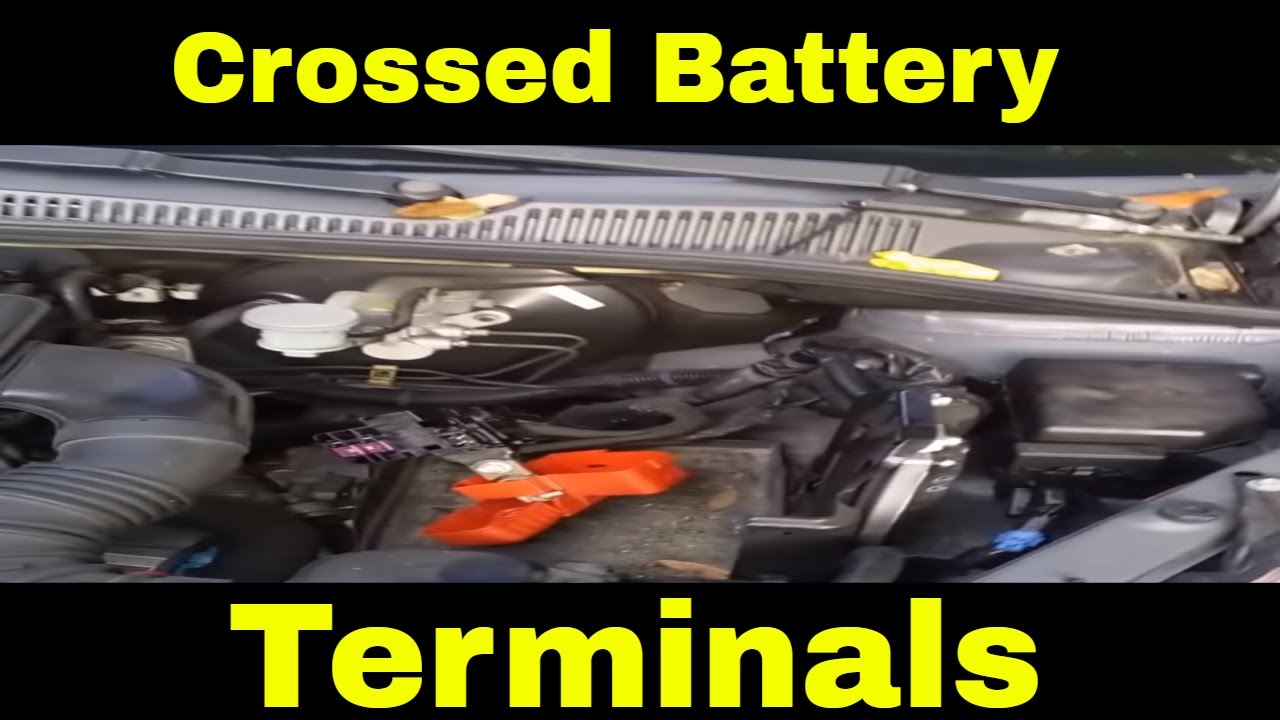 how to fix the damage when you cross the battery terminals in a modern car [ 1280 x 720 Pixel ]